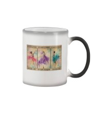 Ballet - Be Strong Poster 19 Color Changing Mug thumbnail