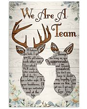 Hunting - We Are A Team Poster 11x17 Poster front