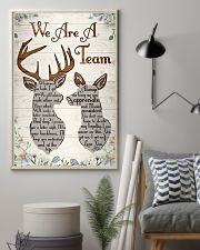 Hunting - We Are A Team Poster 11x17 Poster lifestyle-poster-1