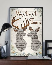 Hunting - We Are A Team Poster 11x17 Poster lifestyle-poster-2