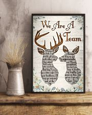 Hunting - We Are A Team Poster 11x17 Poster lifestyle-poster-3