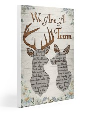Hunting - We Are A Team Poster 20x30 Gallery Wrapped Canvas Prints thumbnail