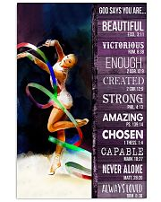 Gymnastic God Says You Are 11x17 Poster front