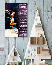 Gymnastic God Says You Are 11x17 Poster lifestyle-holiday-poster-2