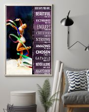 Gymnastic God Says You Are 11x17 Poster lifestyle-poster-1
