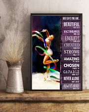 Gymnastic God Says You Are 11x17 Poster lifestyle-poster-3