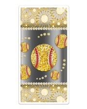 Softball - Gold Phonecase Sticker tile