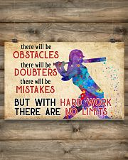 Softball - No Limits  17x11 Poster poster-landscape-17x11-lifestyle-14