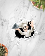Chef Crack Sticker - Single (Vertical) aos-sticker-single-vertical-lifestyle-front-06
