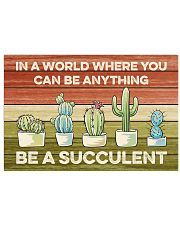 Cactus - Be A Succulent 17x11 Poster front