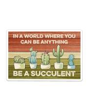Cactus - Be A Succulent Sticker tile