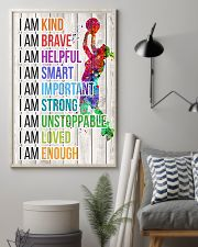 Volleyball - I am 11x17 Poster lifestyle-poster-1