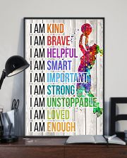 Volleyball - I am 11x17 Poster lifestyle-poster-2