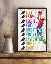 Volleyball - I am 11x17 Poster lifestyle-poster-3