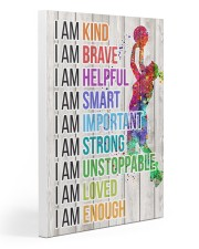 Volleyball - I am Gallery Wrapped Canvas Prints tile