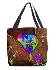 tote bag autism All-over Tote front