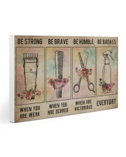 Hair Stylist - Be Strong Poster 19 30x20 Gallery Wrapped Canvas Prints thumbnail