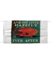 Crochet - And She Lived Happily Ever After Mask tile