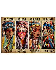 Native - Be Strong 17x11 Poster front