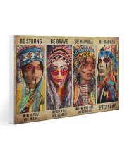 Native - Be Strong Gallery Wrapped Canvas Prints tile