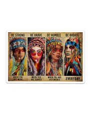 Native - Be Strong Sticker tile