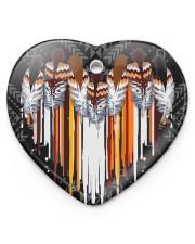 Native Ornament Heart ornament - single (porcelain) front