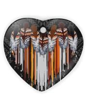 Native Ornament Heart ornament - single (wood) thumbnail
