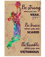 Basketball - Be Strong 11x17 Poster front