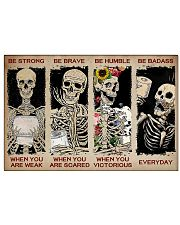 Sk Be Strong 17x11 Poster front
