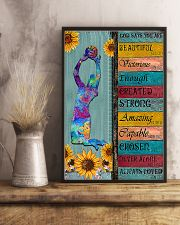 Volleyball-Says You Are Beautiful 11x17 Poster lifestyle-poster-3