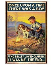 Camping Boy Once Upon A Time 11x17 Poster front