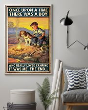 Camping Boy Once Upon A Time 11x17 Poster lifestyle-poster-1
