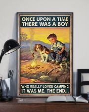 Camping Boy Once Upon A Time 11x17 Poster lifestyle-poster-2