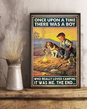 Camping Boy Once Upon A Time 11x17 Poster lifestyle-poster-3