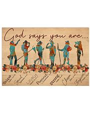 Girl Scout God Says You Are V1 17x11 Poster front
