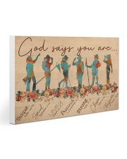 Girl Scout God Says You Are V1 Gallery Wrapped Canvas Prints tile