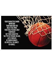 Basketball - Your Character Poster  17x11 Poster front