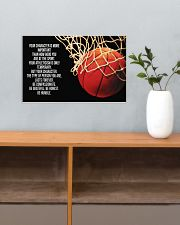Basketball - Your Character Poster  17x11 Poster poster-landscape-17x11-lifestyle-24