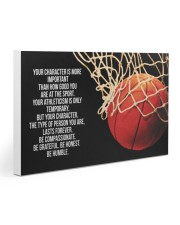 Basketball - Your Character Poster  Gallery Wrapped Canvas Prints tile