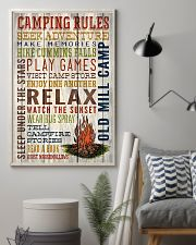 Camping - Camping Rules 11x17 Poster lifestyle-poster-1