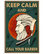 Call Your Barber Poster 11x17 Poster front