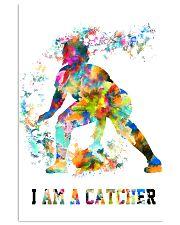 Softball - I Am A Catcher 11x17 Poster front