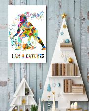 Softball - I Am A Catcher 11x17 Poster lifestyle-holiday-poster-2