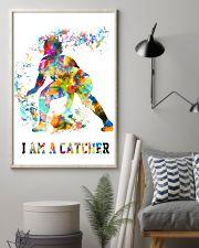 Softball - I Am A Catcher 11x17 Poster lifestyle-poster-1