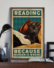 Reading Because Murder Is Wrong 11x17 Poster lifestyle-poster-2