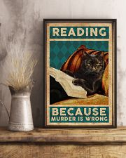Reading Because Murder Is Wrong 11x17 Poster lifestyle-poster-3