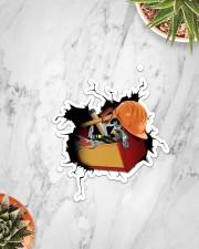Carpenter Crack Sticker - Single (Vertical) aos-sticker-single-vertical-lifestyle-front-06