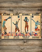 Volleyball - Be Strong 17x11 Poster poster-landscape-17x11-lifestyle-14