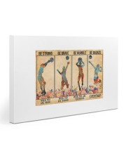 Volleyball - Be Strong 30x20 Gallery Wrapped Canvas Prints thumbnail