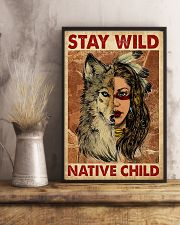 Native - Native Child 11x17 Poster lifestyle-poster-3